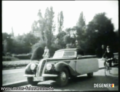 Führerscheinlehrfilm von 1937
